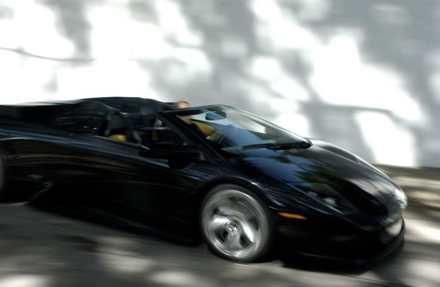 Murcielago Roadster In Transporter 2